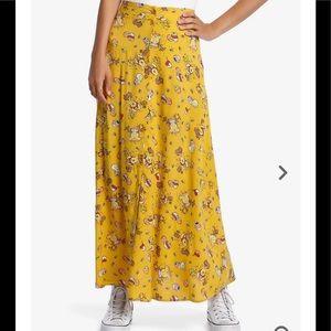 Disney Winnie The Pooh Button-Front Midi skirt
